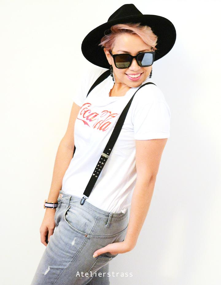 camiseta con sombrero