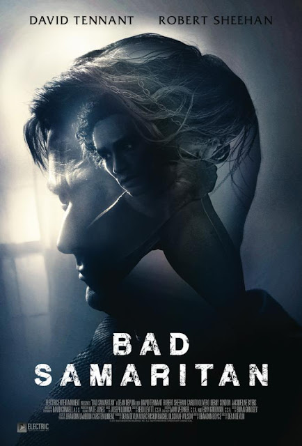 Movie poster for the 2018 horror thriller Bad Samaritan, starring David Tennant and Robert Sheehan