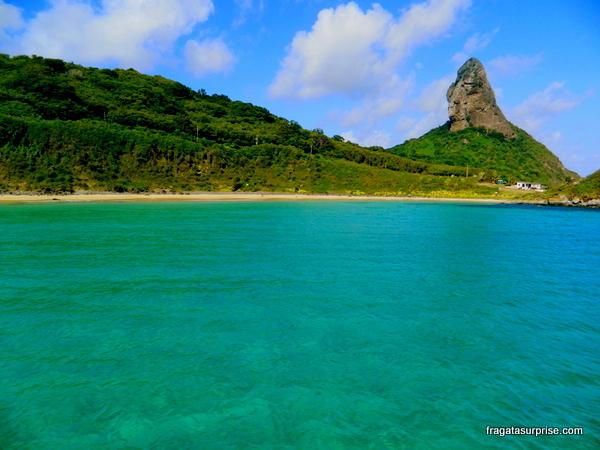 Passeio de barco pelo Mar de Dentro, Praia do Meio, Fernando de Noronha