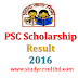 PSC Scholarship Result 2016 www.dpe.gov.bd Primary Education Board