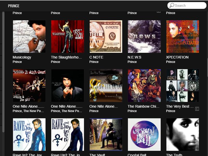 TIDALでプリンスのアルバムを15タイトルを公開|NPG Music Blog