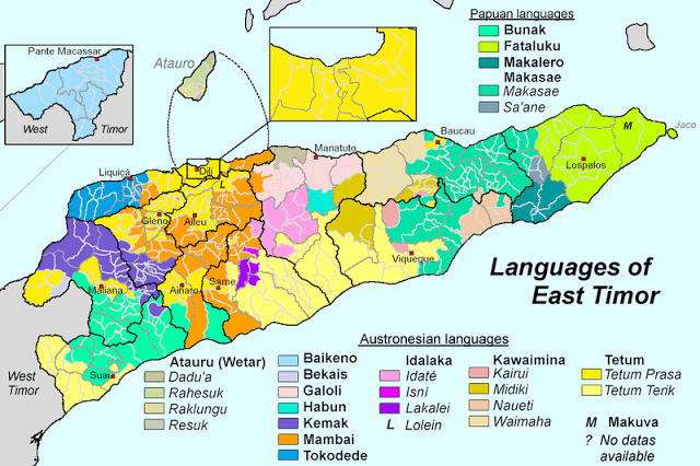 Bahasa yang ada di Timor Leste
