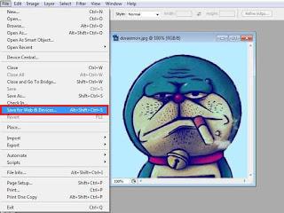 Cara Mengecilkan Ukuran File Foto Di Photoshop CS3 Tanpa Mengurangi Kualitas