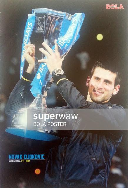 Poster Novak Djokovic