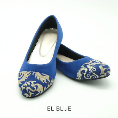 The Warna Shoes - El Blue