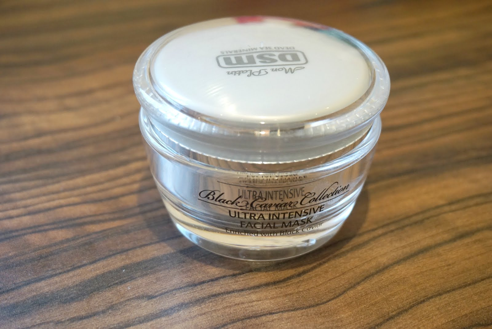 Mon Platin, DSM, Dead Sea Minerals, Black Caviar Ultra Intensive Facial Mask