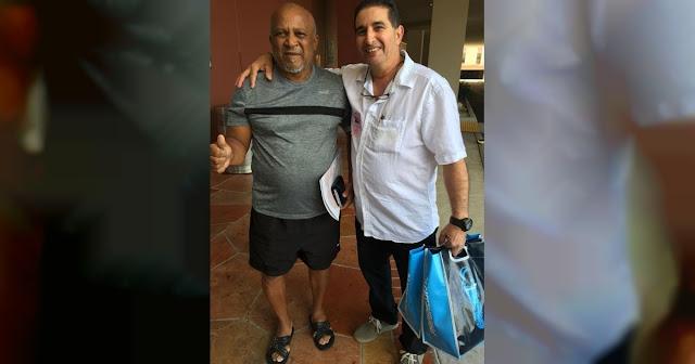 Después de pasar unos días ingresado en el Kendall Regional Medical Center con un cuadro agudo de pancreatitis, Alfonso Urquiola se restablece ahora en el hogar de sus familiares en Miami