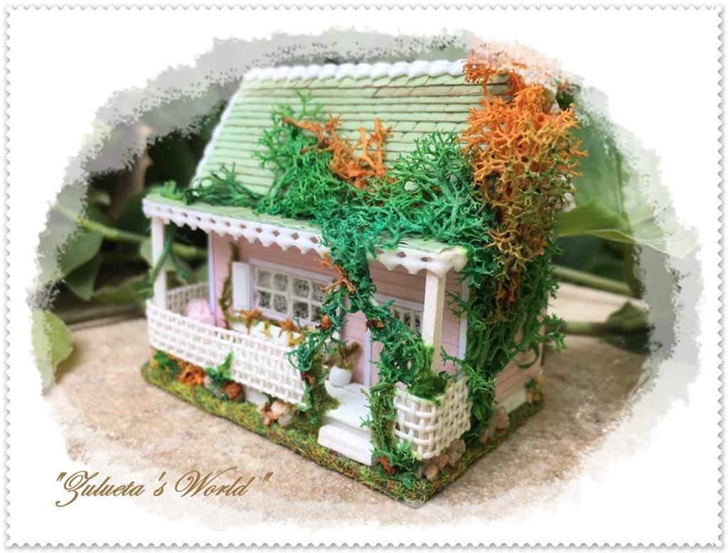Zulueta 39 s world miniatures la casita de las tejas verdes - La casita de los suenos ...