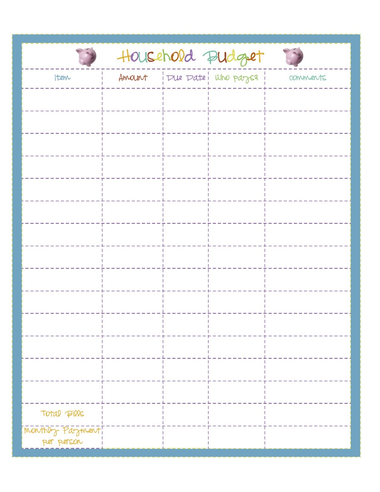 Creative Life Designs Home Management Binder Part 7