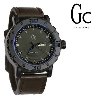Harga Jam tangan GC kulit kw,GC kw