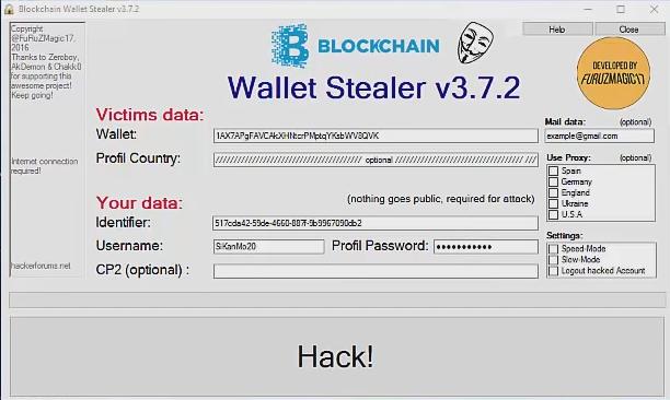 coinbase wallet stealer 2017 license key