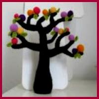 precioso árbol amigurumi