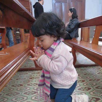 wenn Kinder beten