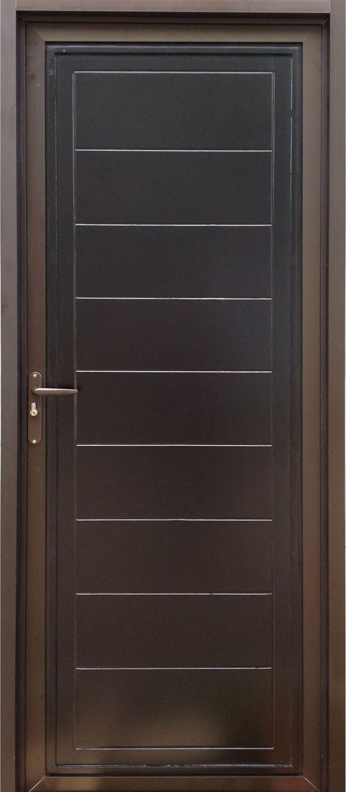 pintu aluminium urat kayu 1
