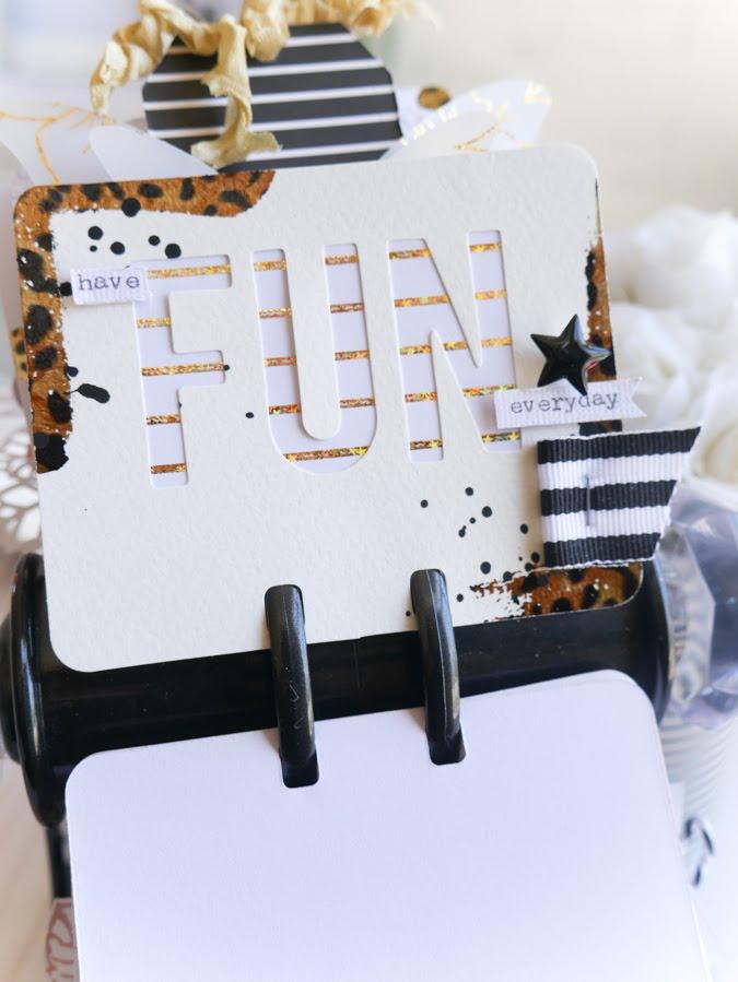 Creating Heidi Swapp MemoryDex Cards with Minc Foil by Jamie Pate | @jamiepate for @heidiswapp