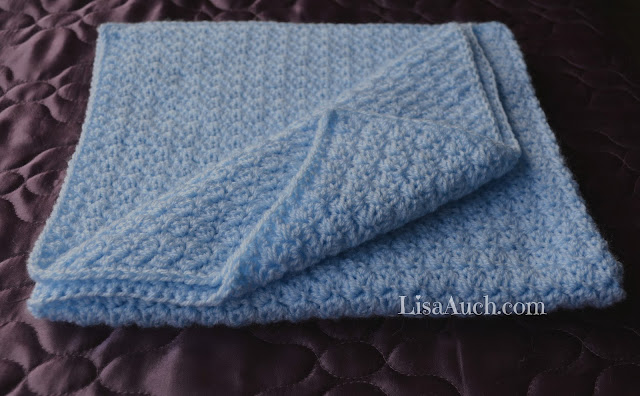 free baby blanket crochet pattern easy
