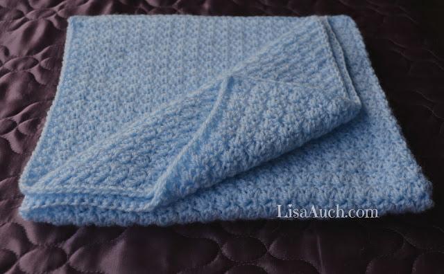 Easy Crochet Baby Blanket Pattern, FREE Crochet Pattern | FREE ...