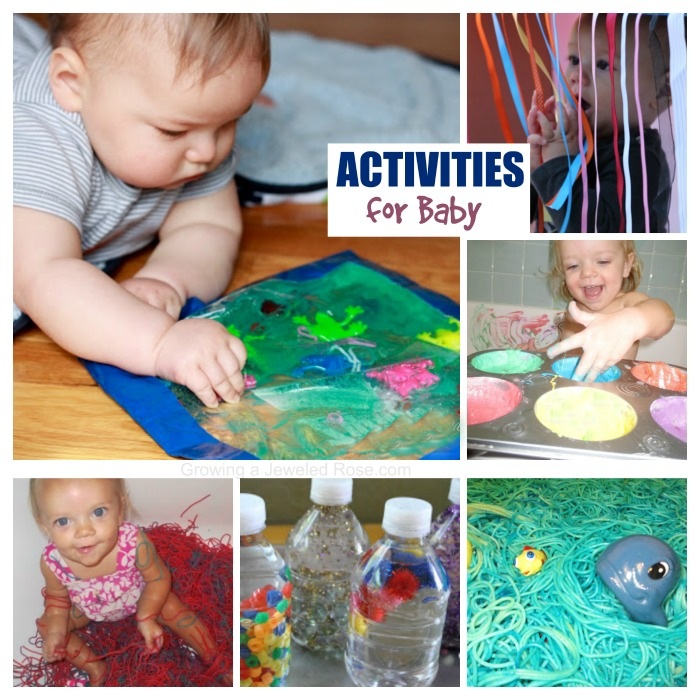 Sensory Play Activites For Babies Growing A Jeweled Rose