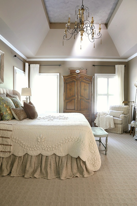savvy southern style french country master bedroom refresh. Black Bedroom Furniture Sets. Home Design Ideas