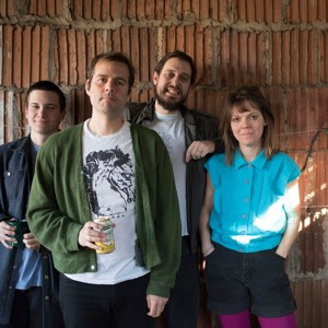 "Proto Punk, art rock, new old wave hybrid sounds of BRNDA - ""Five Dollar Shake"""