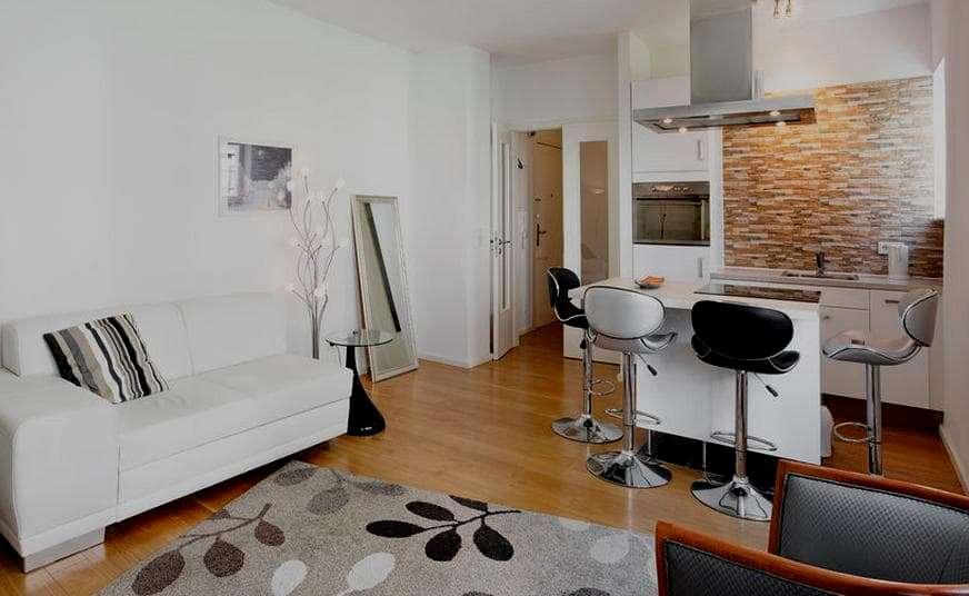 color sofa pay weekly sofas bad credit no deposit 25 pequeñas cocinas para el salón - con estilo