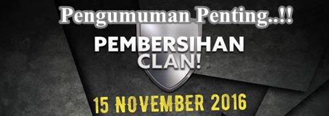 PB Garena Kembali Akan Menghapus Clan-Clan Yang Tidak Memenuhi Syarat