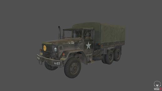 Arma3用米軍のM35A2トラック アドオン