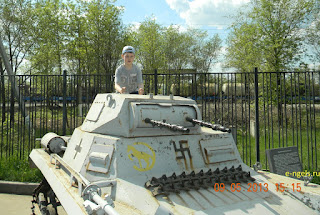 танк Пз.1 в частной энгельсской коллекции