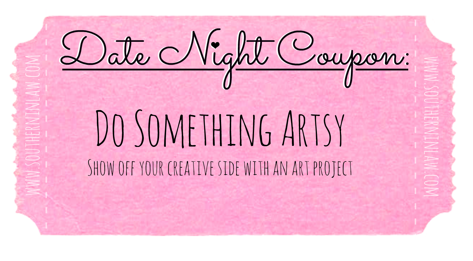 Affordable Date Ideas - Cheap Date Ideas Coupons - Work on an Art Project Together
