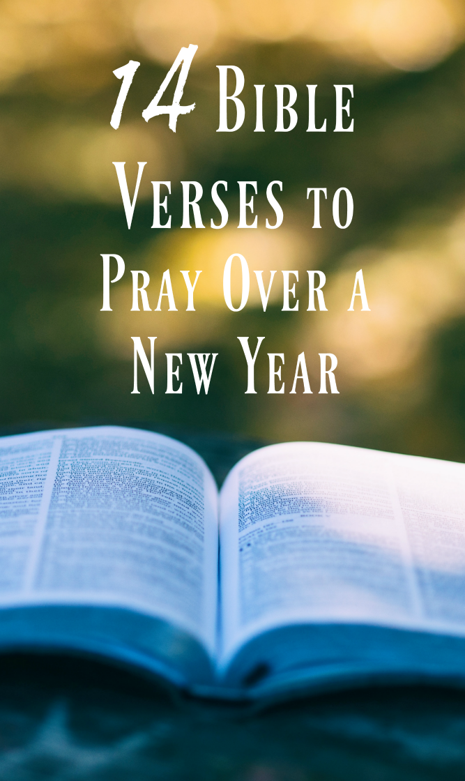 The Life of Jennifer Dawn: 14 Bible Verses to Pray For a New Year