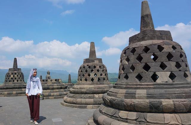 Menjemput rindu di Candi Borobudur