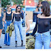 Kendall Jenner Shows It All With Sheer Shirt In New York !! (Pics)