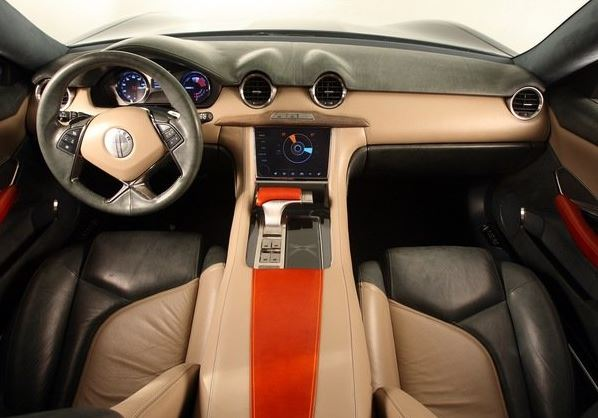 2017 Fisker EMotion Interior