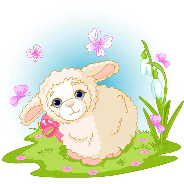 Garden Sheep Icon