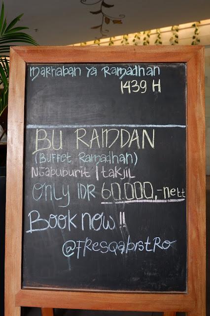 buffet ramadhan di batiqa cirebon