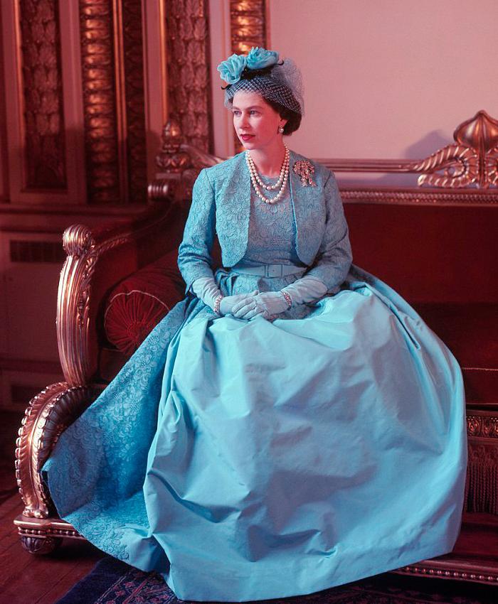 styl Królowej Elżbiety II