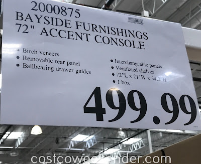 Deal for the Bayside Furnishings Accent Cabinet at Costco