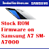 Stock ROM Firmware on Samsung A7 SM-A7000