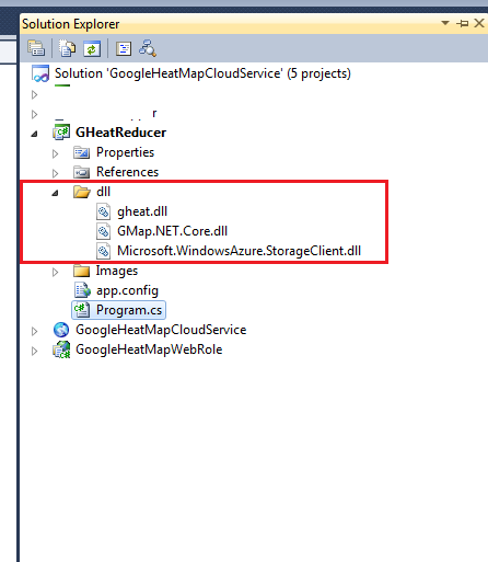 Visual studio include dll into exe | How to: Specify Which