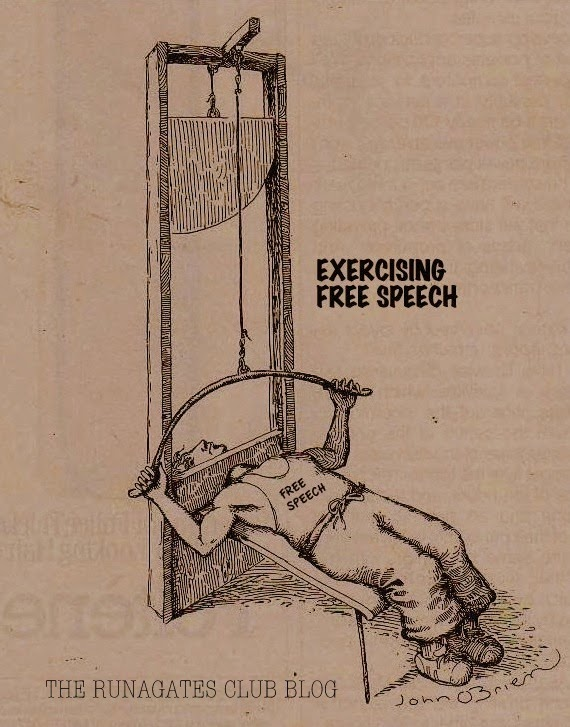 John O'Brien (American cartoonist) - Exercising Free Speech