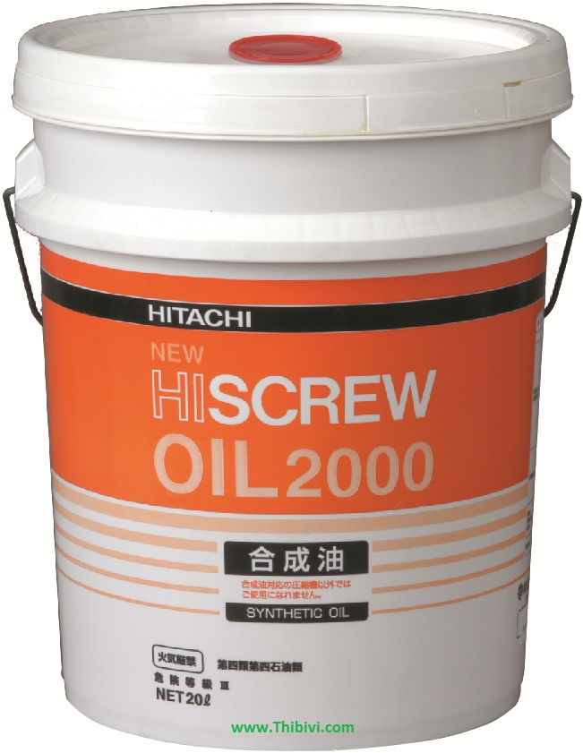 New Hiscrew oil 2000 dau may nen khi Hitachi