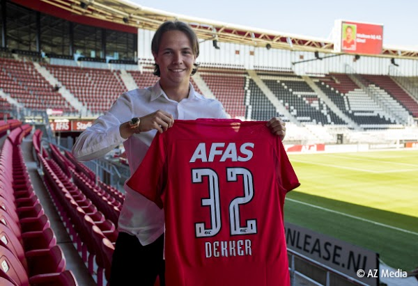 Oficial: AZ Alkmaar, contrato profesional para Dekkers