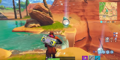 Fortnite, Timed Trials, Stopwatch Locations Map, Paradise Palms, Fatal Fields