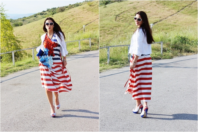 best striped looks and outfits for spring and summer, best striped dresses ideas