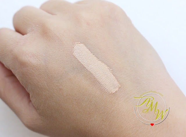 a swatch photo of Maybelline Fit Me! concealer Sand