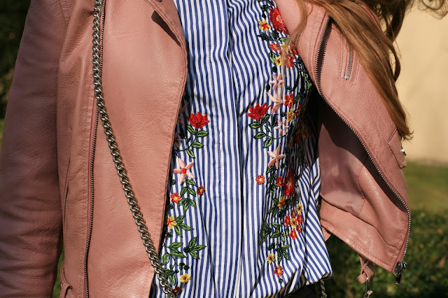 Spring MUST HAVE - floral embroidered shirt | Wiosenne MUST HAVE - koszula z haftem