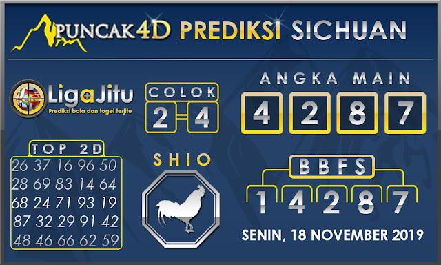 PREDIKSI TOGEL SICHUAN PUNCAK4D 18 NOVEMBER 2019