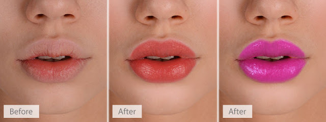 Lip Makeup Photo Editing