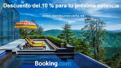 Cupón de decuento del 10 % para Booking.com