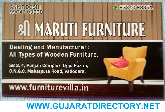 SHREE MARUTI FURNITURE - 9904703238, 8734098351